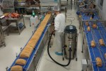 Food production_line precision cleaning vacuum cleaner